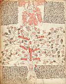 Tree of life allegory,15th century