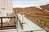 Geothermal power station,Iceland