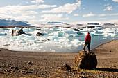 Jokulsarlon ice lagoon,Iceland