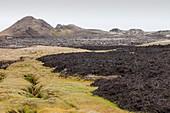 Lava flow,Iceland