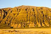 Eroded mountain,Iceland