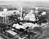 B Reactor,Hanford Site,January 1945