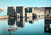 Temple of Isis at Philae,20th century