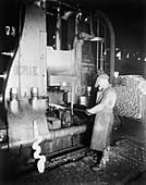Steam hammer,1920s
