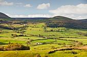 Hodder valley,Lancashire,UK