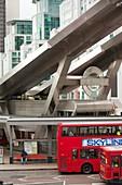 Vauxhall bus station,London,UK