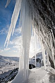 Icefall,Lake District,UK