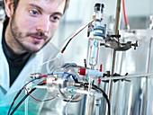 Carbon capture research