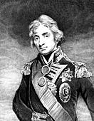 Horatio Nelson,British naval commander