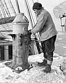 Antarctic maritime activity,1910