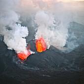 Nyamulagira volcano,Congo
