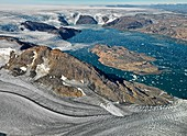 Johan-Petersen-Fjord,East Greenland