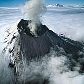 Tungurahua volcano,Ecuador