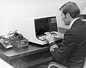 Carterfone computer terminal,1970s