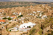 Old Cave houses in Guadix