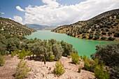 The Iznajar reservoir,Spain