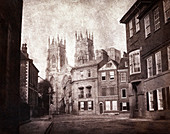 York Minster,1840s calotype print