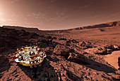 Schiaparelli ExoMars EDM lander