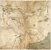 Chinese river embankments,18th century