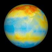Carbon dioxide levels,Africa,2003