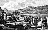 La Perouse in the Far East,1787