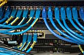Supercomputer network cables