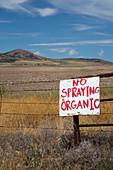 Organic farm,Utah,USA