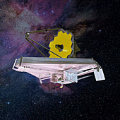 James Webb Space Telescope,artwork