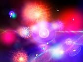 Higgs field,conceptual image