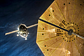ISS Expedition 46 approaching ISS