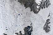 Zachariae Isstrom glacier,2015