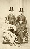 William Osler as a school prefect,1860s