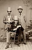 William Osler as medical professor,1870s