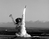 Minuteman nuclear missile launch,1980
