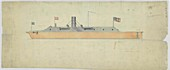 Ironclad warship CSS Virginia,1860s