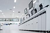 Haematology laboratory