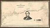 Atlantic telegraph and Cyrus Field,1858