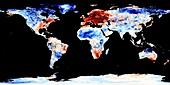 Global warming record,December 2015