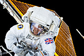 Tim Peake's spacewalk,2016