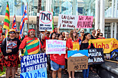 Thirty Meter Telescope protest,Hawaii