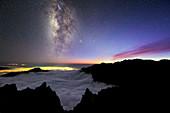 Milky Way above La Palma,Canary Islands