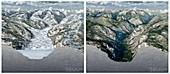 Glacier-carved Kings Canyon,artwork