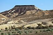 Mesa,Negev desert