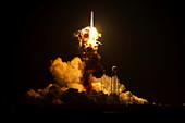 Antares rocket explosion,2014
