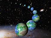 Earth-like alien planets