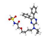 Selexipag blood pressure drug molecule