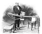 19th Century surgeon,illustration