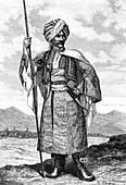 19th Century Kurdistan chief