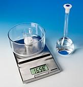 Making a reactant solution