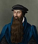 John Knox,Scottish reformation clergyman